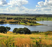 Carcoar Dam by Terry Everson