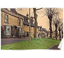 Burford Cotswolds Poster