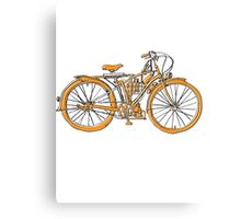 Steam Punk Cycling Canvas Print