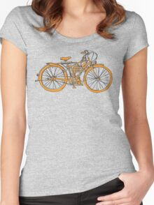 Steam Punk Cycling Women's Fitted Scoop T-Shirt