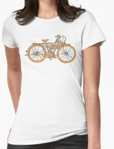 Steam Punk Cycling Womens Fitted T-Shirt