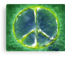 Peace Day 2011 Canvas Print
