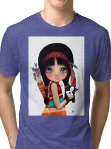 Native Girl Tri-blend T-Shirt