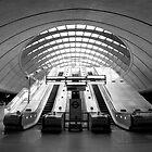 Escalator (Panorama) by Luke Stevens