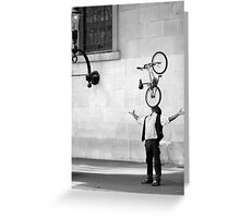Wheelie Greeting Card