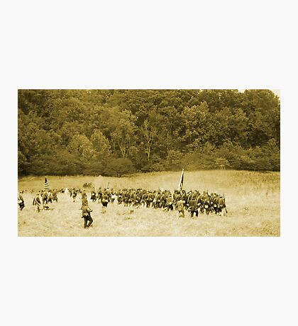 The Front Line Photographic Print