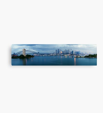 A Beautiful Gloom Canvas Print