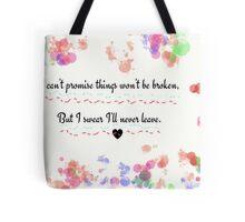 James Dean + Audrey Hepburn Tote Bag
