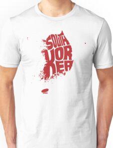 South Korea Red Unisex T-Shirt