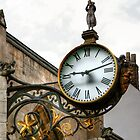The Clock on St Martin-le-Grand Church, York by Christine Smith
