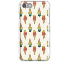 Rainbow Ice Cream iPhone Case/Skin