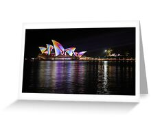 Psychedelic Sails Greeting Card