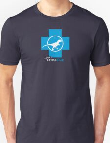 Don't Cross Blue | Jurassic Raptor T-Shirt