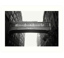 Chelsea Market Skybridge - New York City Art Print