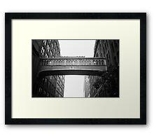 Chelsea Market Skybridge - New York City Framed Print