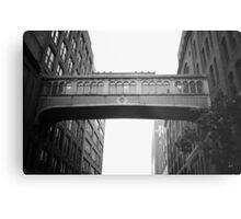Chelsea Market Skybridge - New York City Metal Print
