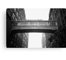 Chelsea Market Skybridge - New York City Canvas Print
