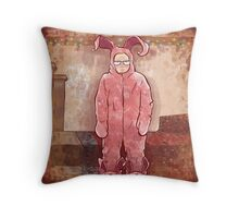Ralphies Suit, Ode to A Christmas Story Throw Pillow