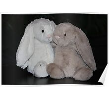 Bunny Snuggle Poster