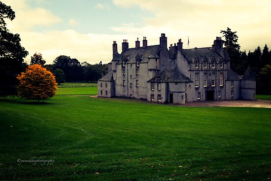 Leith Hall (Huntly, Aberdeenshire, Scotland) by Yannik Hay
