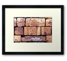 Heiroglyphics, Egypt Framed Print