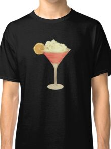 50s Pink Martini Cheesecake Cocktail Classic T-Shirt