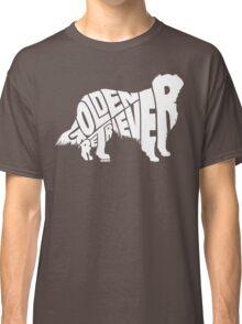 Golden Retriever White Classic T-Shirt