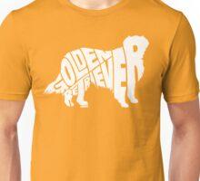 Golden Retriever White Unisex T-Shirt