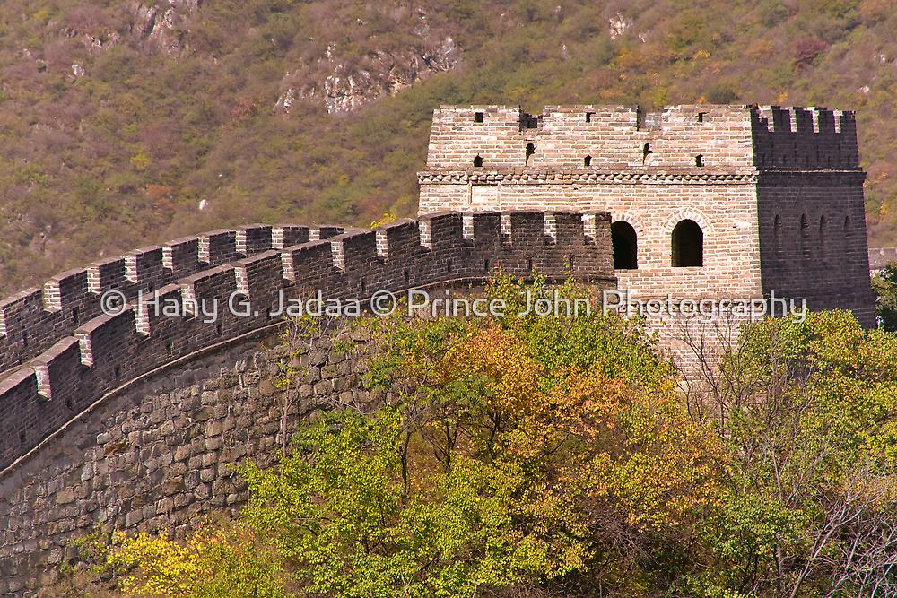The Great Wall Series - at Mutianyu #3 by © Hany G. Jadaa © Prince John Photography