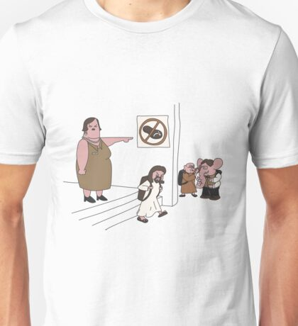 Inappropriate Footwear  Unisex T-Shirt
