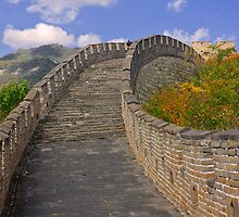 The Great Wall Series - at Mutianyu #4 by © Hany G. Jadaa © Prince John Photography