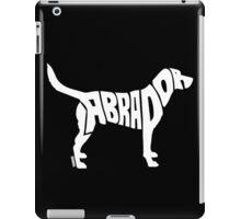 Labrador White iPad Case/Skin