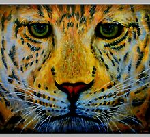 Easy Now Leopard by uepa arts