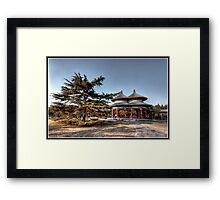 Double Ring Pavilion  Framed Print