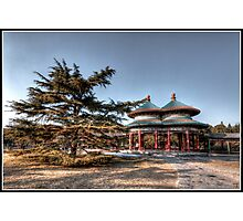 Double Ring Pavilion  Photographic Print
