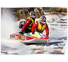 Power boat 166 Poster