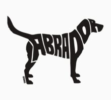 Labrador Black Kids Tee