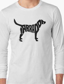 Labrador Black Long Sleeve T-Shirt