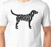 Labrador Black Unisex T-Shirt