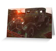 Classic Oldtimer Greeting Card