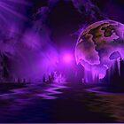 Purple setting by uepa arts
