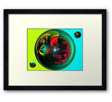 4 Forces combined Framed Print