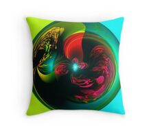 4 Forces combined Throw Pillow