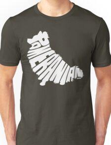 Pomeranian White Unisex T-Shirt