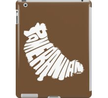 Pomeranian White iPad Case/Skin
