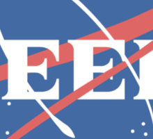 Space Geek Sticker