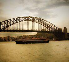 Sydney Harbor Bridge by Anthony Surace