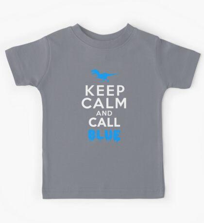 Keep Calm and Call Blue | Raptor Kids Tee
