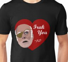 Colonel Tigh Valentine Unisex T-Shirt