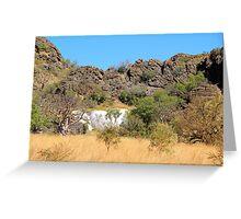 rocks of the kimberley Greeting Card